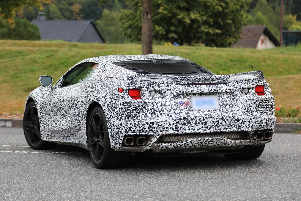 2020 Mid Engine Corvettes Show A Little More Skin For Spy