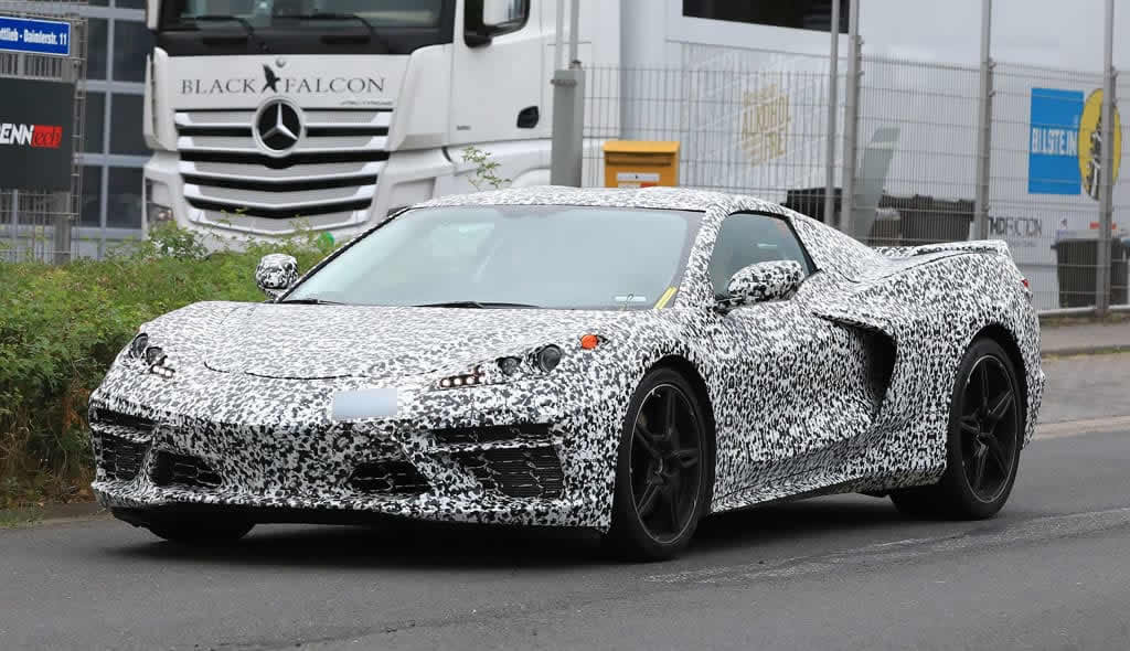 2020 Mid-Engine Corvette