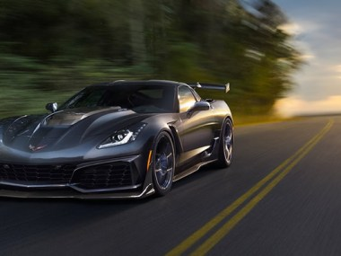 2019 Corvette ZR1 Wins Road and Track's Performance Car of the Year
