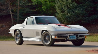 1967 Corvette with only 2,996 original miles.