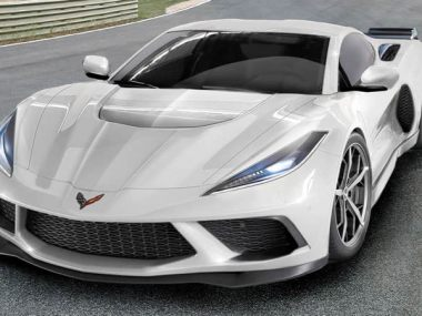 2020 C8 Corvette Mid-Engine