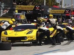 Corvette Racing Team at Long Beach