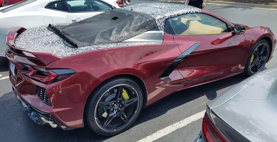 2020 C8 Corvette Convertible