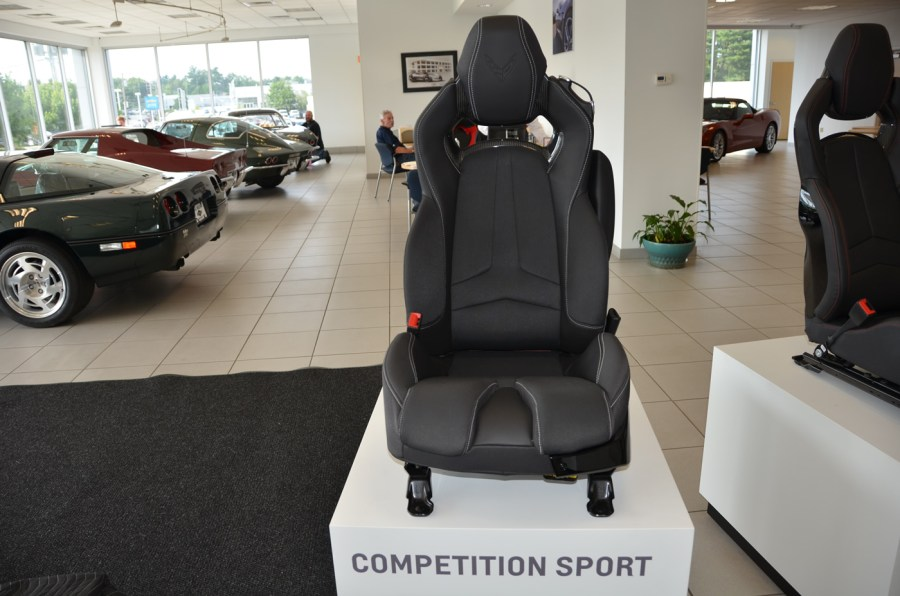 2020 C8 Corvette Competition Sport Seat