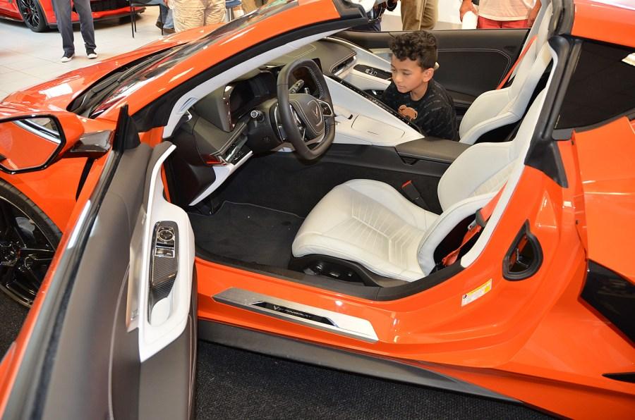 2020 C8 Corvette Interior