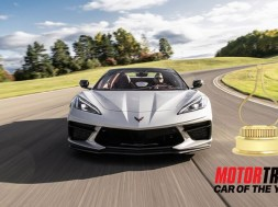 2020 Corvette – Motor Trend Car of the Year Award