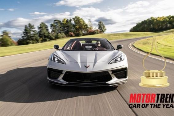 2020 Corvette – Motor Trend Car of the Year Award