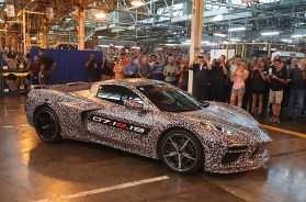 2020 Corvette at the Bowling Green Corvette Assembly Plant
