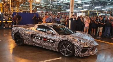 2020 Corvette at the Bowling Green Corvette Assembly Plant