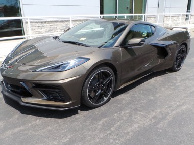 2020 Corvette Stingray Coupe in Zeus Bronze Metallic