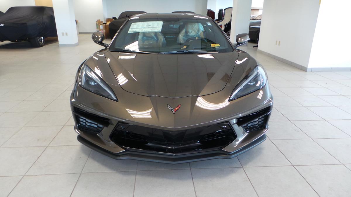 2020 Corvette Stingray in Zeus Bronze Metallic