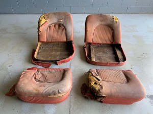 1953 Corvette Waldorf Motorama Seats