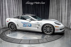 A 2013 Chevrolet Corvette ZR1 will lead the starting field of the 96th Indianapolis 500 to the green flag Sunday, May 27, 2012 at the Indianapolis Motor Speedway. With 638 horsepower, the Corvette ZR1 is the most powerful production car ever to pace the race.