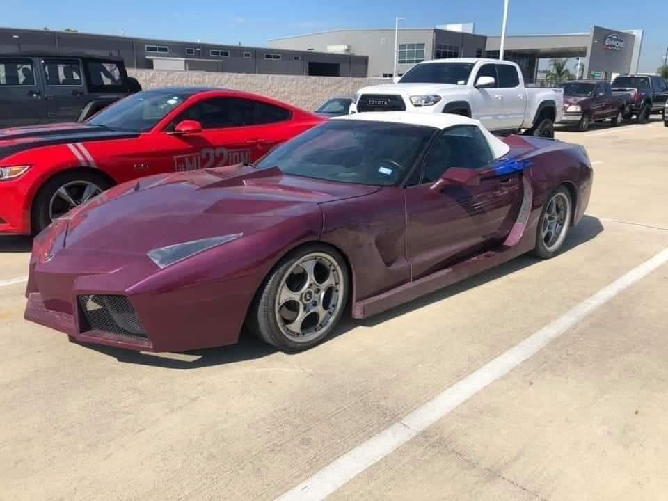 Corvette Lamborghini Love Child
