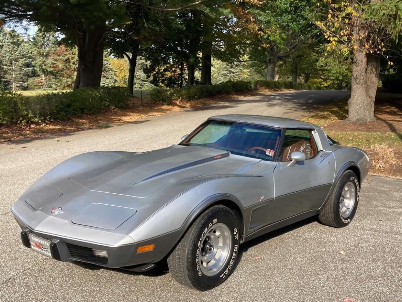 1978 Corvette 25th Anniversary Edition witih Mahogany Interior