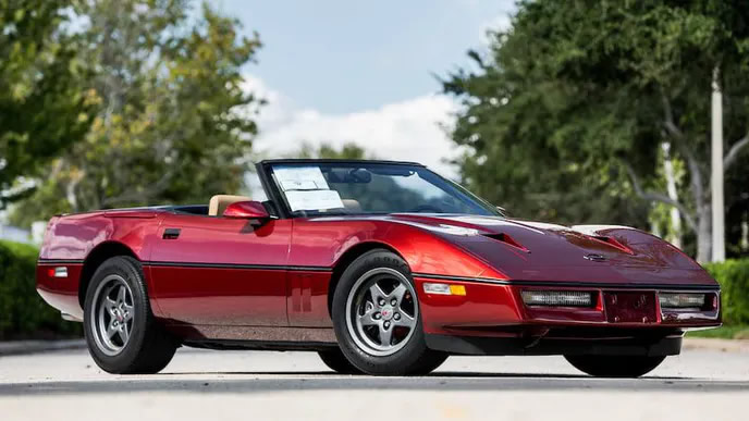 1987 Callaway Corvette