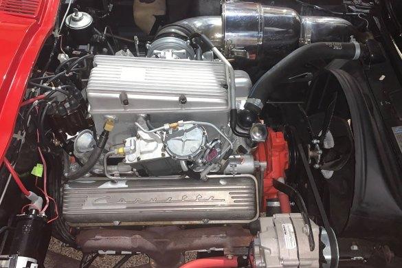 1963 Corvette Pilot Line Car - Number 18 - Original Sand-Cast Fuel Injection Unit