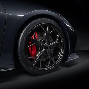 2020 - 2021 Corvette 5-Spoke Black Trident Wheel
