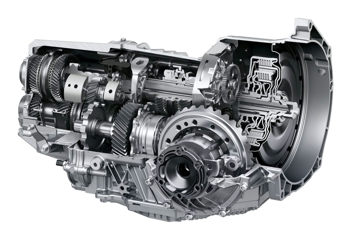 C8 Corvette dual clutch Transmission by Tremec