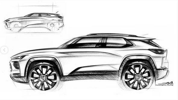 An all-electric Corvette SUV?