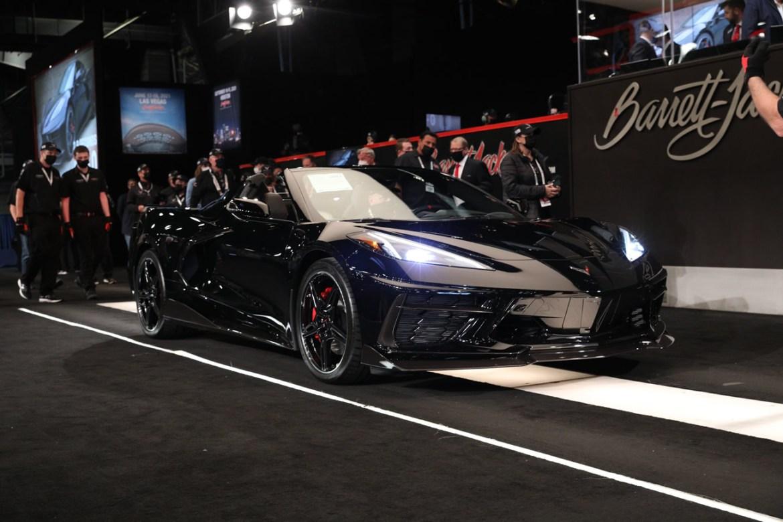 First Retail 2020 Corvette Convertible - 1G1Y83D40L5107060