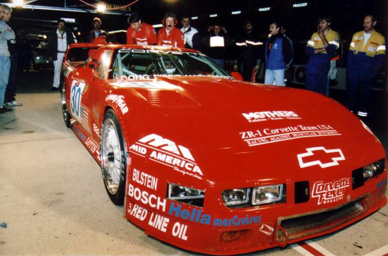1995 Corvette ZR-1 at the 24 Hours of Le Mans