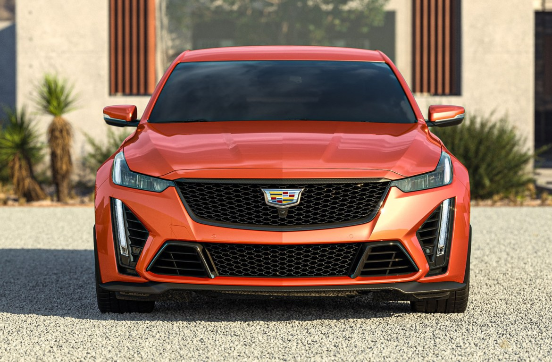 2022 Cadillac CT5-V Blackwing in Blaze Orange Metallic
