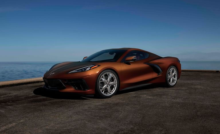 2022 Corvette - Caffeine Metallic