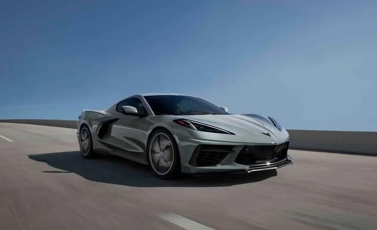 2022 Corvette - Hypersonic Gray Metallic