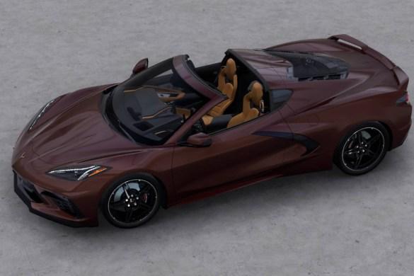 2022 Corvette Stingray in Caffeine Metallic