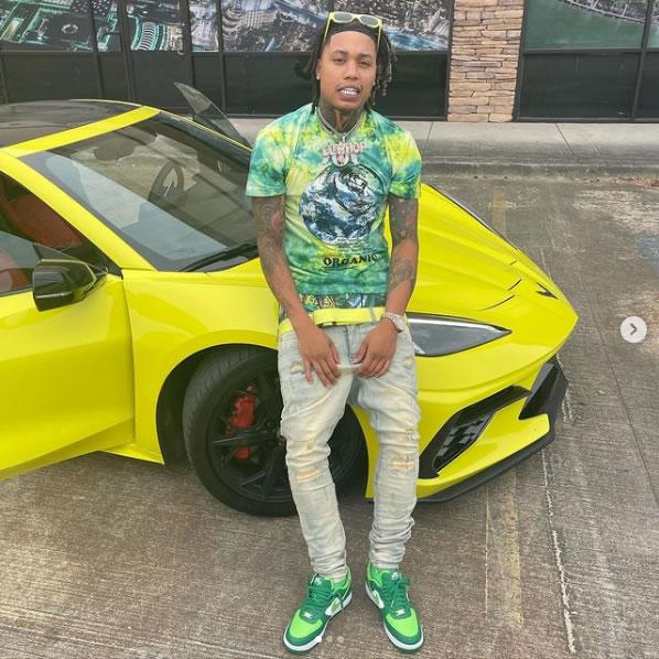 Hip Hop Artist TEK and his 2020 Corvette