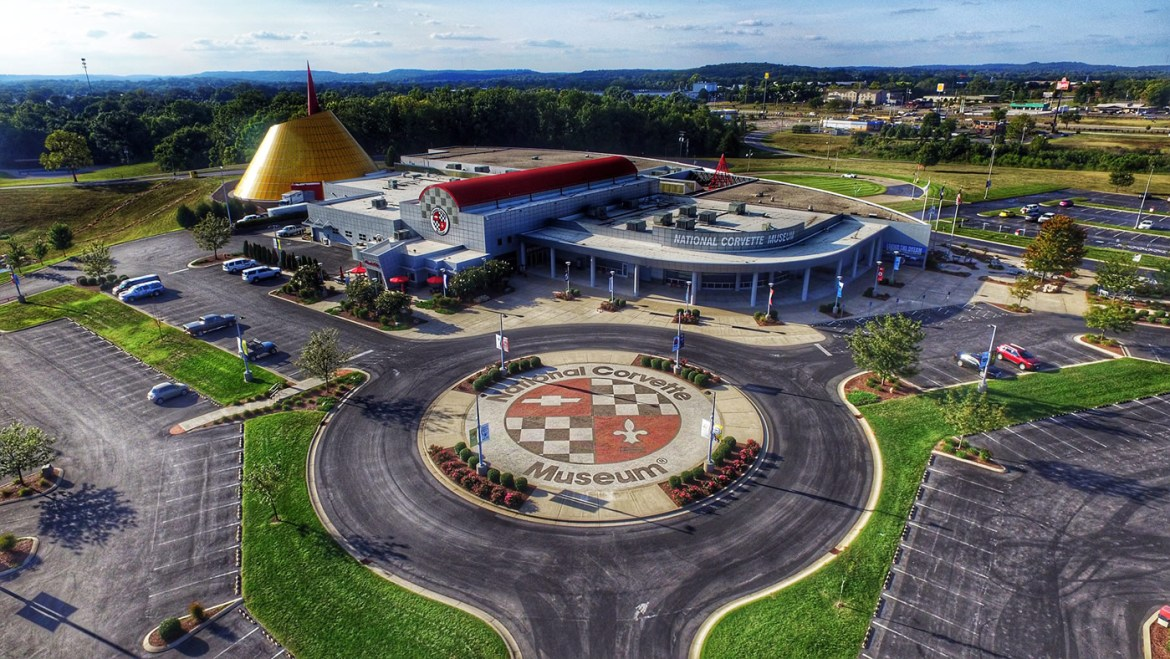 National Corvette Museum During the Day