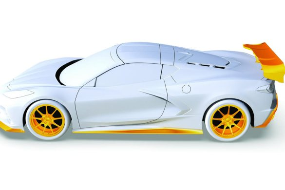 Callaway Corvette C8 Launch Edition