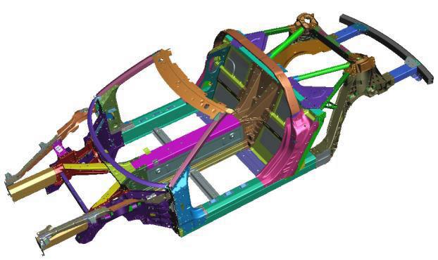 C8 Corvette Structure