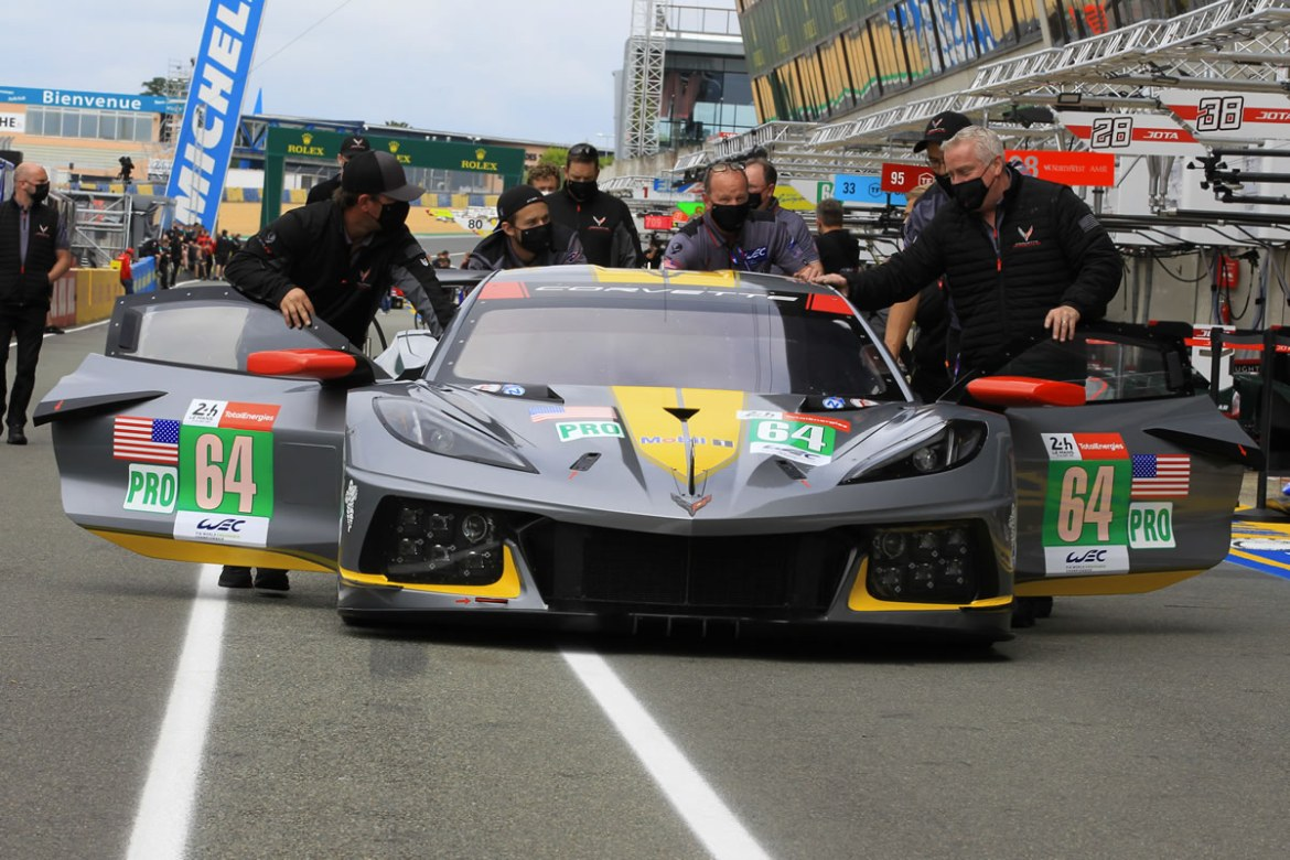 CORVETTE RACING AT LE MANS: Tandy Puts No. 64 C8.R in Hyperpole