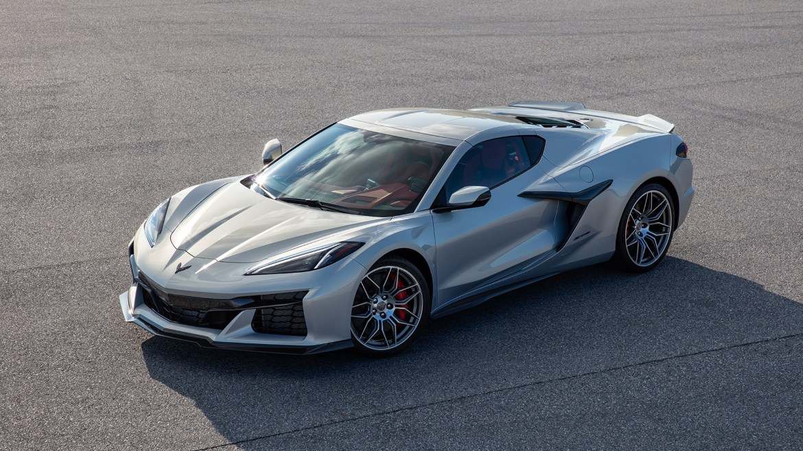 First glimpse of the all-new 2023 Chevrolet Corvette Z06. Full reveal coming 10.26.21.