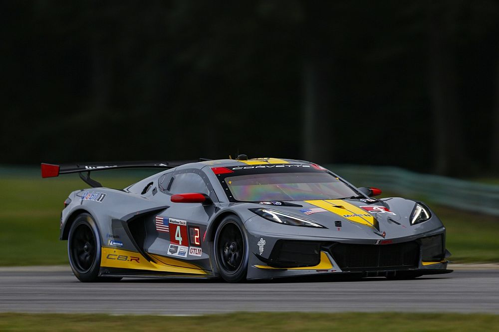 Tommy Milner ended Corvette Racing teammate Jordan Taylor's run of five straight IMSA pole positions after edging his #4 Corvette ahead by three thousandths at VIRaceway.