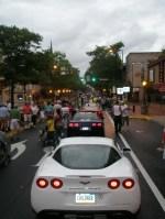 Corvettes at Carlisle: Downtown Parade