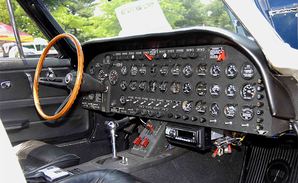 1991 Jeep Yj Fuse Box Diagram C2 Corvette S Custom Dash Gives New Meaning To Top Flight