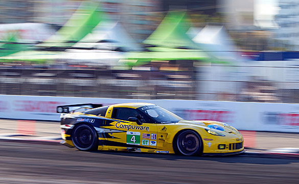 Corvette Racing at Long Beach: Racin' in the Streets
