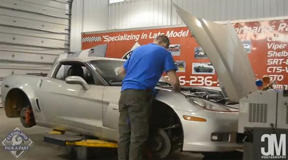 [VIDEO] 2007 Corvette Z06 Is Dismantled in Time Lapse Video