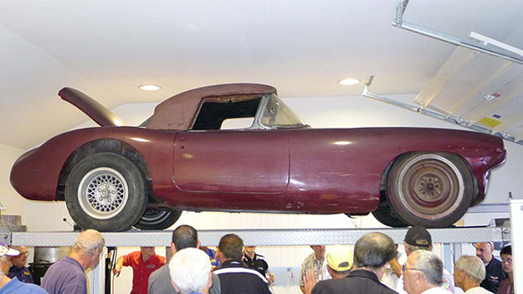 Judge Allows Lawsuit over Ownership of the #1 Briggs Cunningham Corvette to Continue