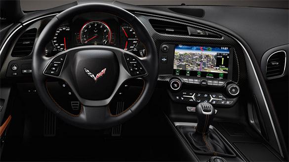 [VIDEO] The Retractable Hi-Def Screen Inside the 2014 Corvette Stingray