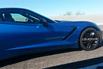 [VIDEO] Black and Blue 2014 Corvette Stingrays Testing in Arizona