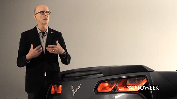 [VIDEO] GM Design Director Tom Peters Defends the 2014 Corvette Stingray's Tail Lights