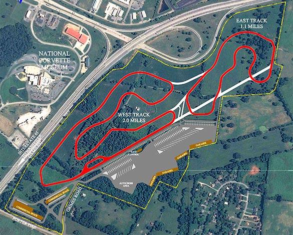 Corvette Museum Sets Groundbreaking for Motorsports Park in June
