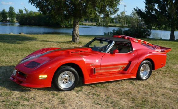 [PICS] Styled to Excess - 1976 Corvette Stingray