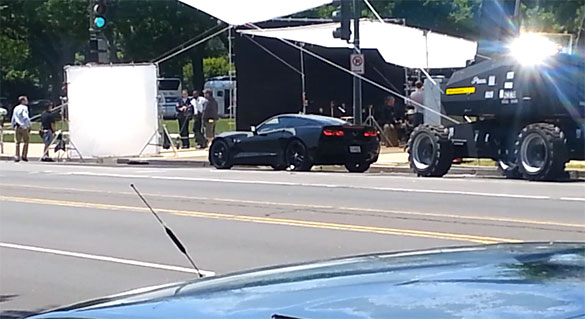 [VIDEO] 2014 Corvette Stingray Spied on the Set of Captain America: The Winter Soldier