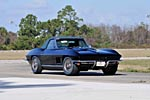 Black 'n Blue 1967 Corvette Convertible Sells for $610,000 at Mecum's Indy Auction