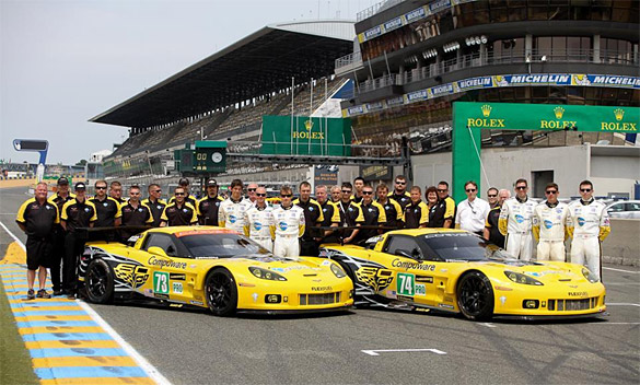 Corvette Racing Off to Solid Start in Le Mans